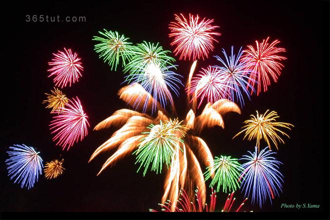 صورة الدرس رقم ١٤ – تصوير الألعاب النارية