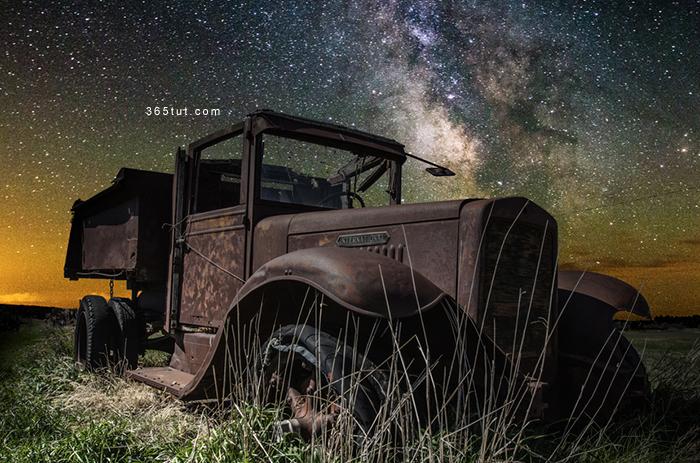 صورة [ دروس تصوير ] الدرس رقم ٢٤٢ – تصوير مجرة درب التبانة – Milky Way