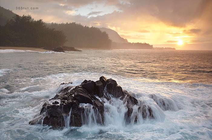 صورة [ دروس تصوير ] الدرس رقم ١٤٤ – أنواع التصوير – تصوير البحر – Seascape